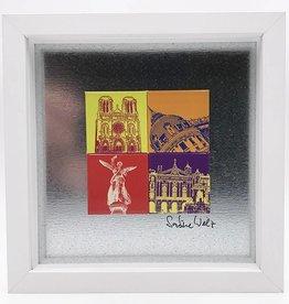 ART-DOMINO® by SABINE WELZ MAGNETBILD NIZZA MOTIV-MIX 4-02