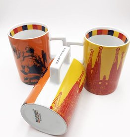 ART-DOMINO® by SABINE WELZ CITY-MUG BARCELONA - 01