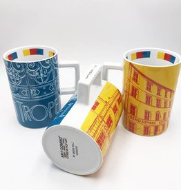 ART-DOMINO® by SABINE WELZ CITY-MUG SAINT TROPEZ - 01