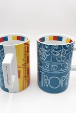 ART-DOMINO® by SABINE WELZ SAINT TROPEZ CITY-MUG - 01