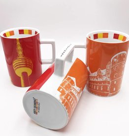 ART-DOMINO® by SABINE WELZ CITY-MUG STUTTGART - 01
