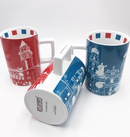 ART-DOMINO® by SABINE WELZ CITY-MUG PASSAU - 01