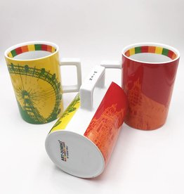 ART-DOMINO® by SABINE WELZ CITY-MUG VIENNA - 01