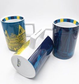 ART-DOMINO® by SABINE WELZ CITY-MUG LUBECK - 01
