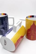 ART-DOMINO® by SABINE WELZ CITY-MUG LONDON - 01
