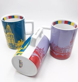 ART-DOMINO® by SABINE WELZ CITY-MUG ZURICH - 01