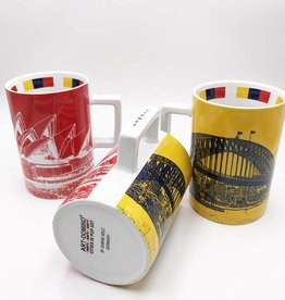 ART-DOMINO® by SABINE WELZ CITY-MUG SYDNEY - 01