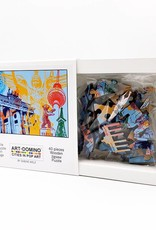 ART-DOMINO® by SABINE WELZ Puzzle with Berlin - motives