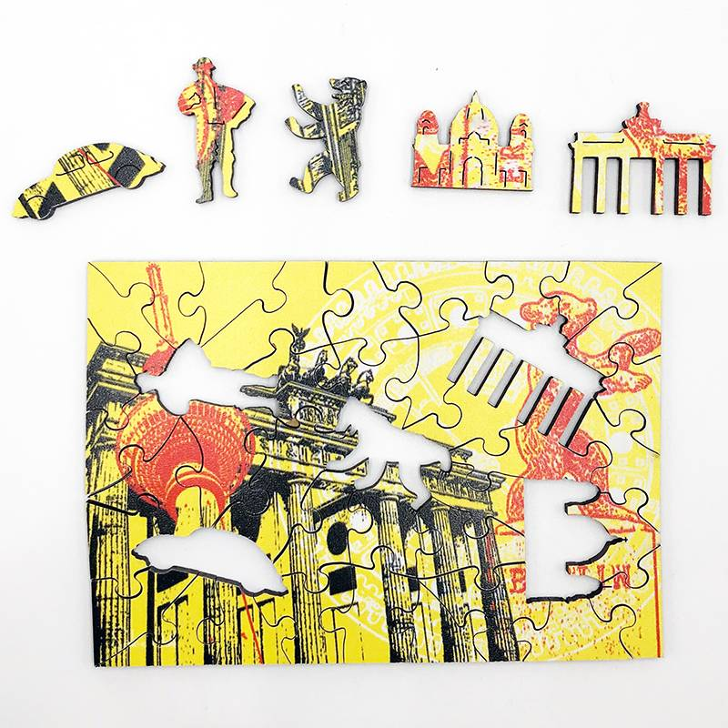 ART-DOMINO® by SABINE WELZ Puzzle avec des motifs de Berlin