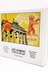 ART-DOMINO® by SABINE WELZ Puzzle mit Berlin - Motiven