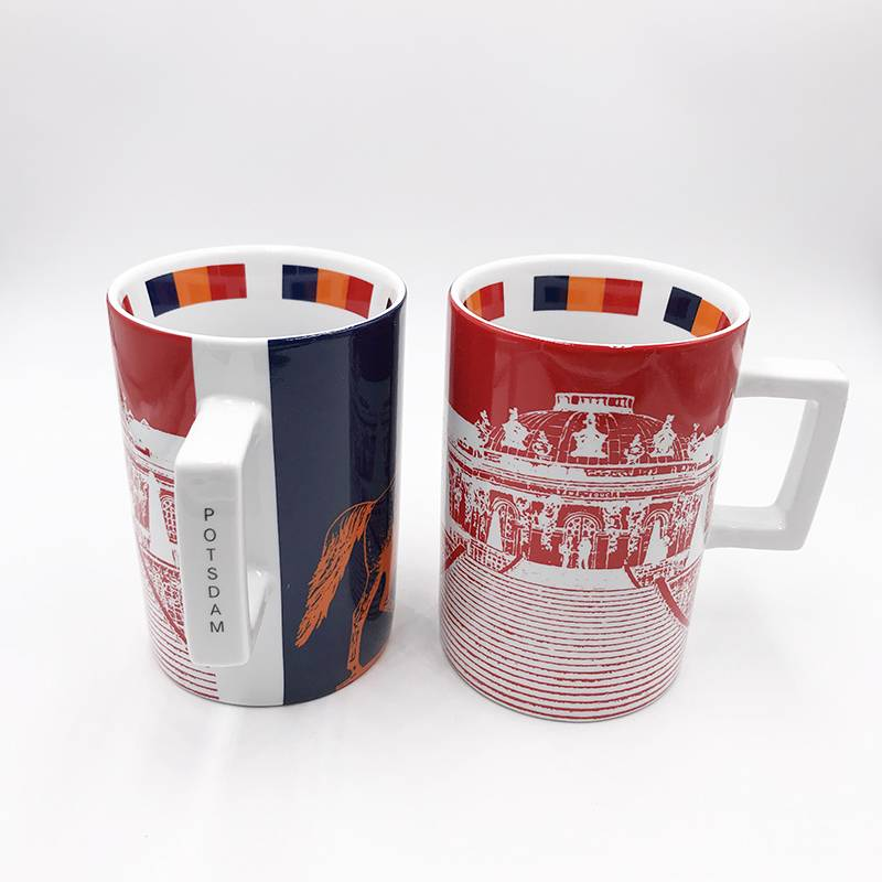 ART-DOMINO® by SABINE WELZ Potsdam CITY-MUG - 01