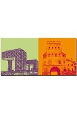 ART-DOMINO® BY SABINE WELZ Köln - Kranbauten + Severinstor