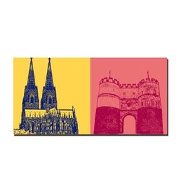 ART-DOMINO® by SABINE WELZ IMAGE SUR TOILE - COLOGNE - 2118