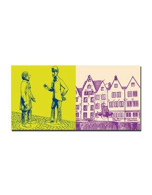 ART-DOMINO® BY SABINE WELZ Köln - Tünnes und Schäl + Martinswinkel