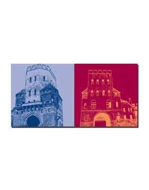 ART-DOMINO® BY SABINE WELZ Köln - Severinstor + Severinstor