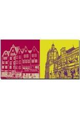 ART-DOMINO® BY SABINE WELZ Köln - Martinswinkel + Rathaus