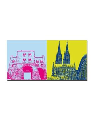 Leinwandbild Köln - Leinwandbilder mit Stadtmotiven
