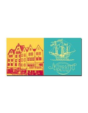 ART-DOMINO® BY SABINE WELZ Köln - Martinswinkel + 4711 Haus