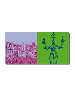ART-DOMINO® BY SABINE WELZ Konstanz - Seestrasse + Imperia