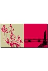 ART-DOMINO® BY SABINE WELZ Konstanz - Imperia + Rheinbrücke