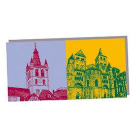 ART-DOMINO® BY SABINE WELZ POST CARD - TRIER - 02