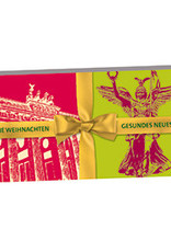 ART-DOMINO® by SABINE WELZ Frohe Weihnachten - Merry Christmas Berlin
