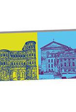ART-DOMINO® by SABINE WELZ Trier - Porta Nigra und Basilika + Kurfürstliches Palais