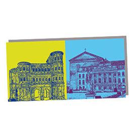 ART-DOMINO® by SABINE WELZ POST CARD - TRIER - 06