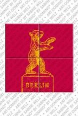 ART-DOMINO® by SABINE WELZ Berlin - Berliner Bär 1