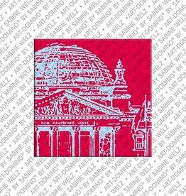ART-DOMINO® by SABINE WELZ Magnet  - Berlin - 74
