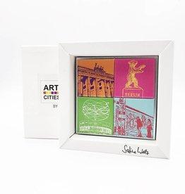 ART-DOMINO® by SABINE WELZ MAGNETSET - GESCHENKBOX - BERLIN - 4 - 06