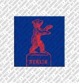 ART-DOMINO® by SABINE WELZ Magnet  - Berlin - 12