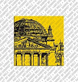 ART-DOMINO® by SABINE WELZ Magnet  - Berlin - 55