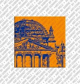 ART-DOMINO® by SABINE WELZ Magnet - Berlin - 10