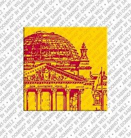 ART-DOMINO® by SABINE WELZ Magnet - Berlin - 09