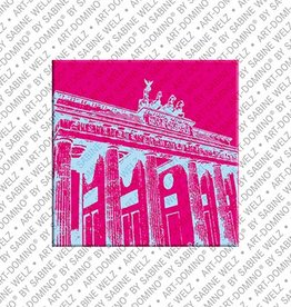 ART-DOMINO® by SABINE WELZ Aimant - Berlin - 01