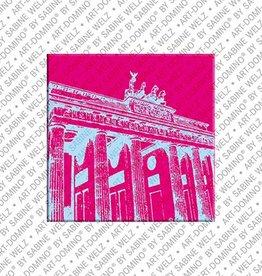 ART-DOMINO® by SABINE WELZ Magnet - Berlin - 01