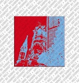ART-DOMINO® by SABINE WELZ Magnet - Berlin - 08