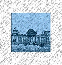 ART-DOMINO® by SABINE WELZ Magnet  - Berlin - 81