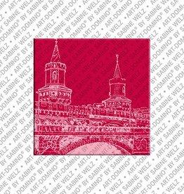 ART-DOMINO® by SABINE WELZ Magnet  - Berlin - 84