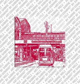 ART-DOMINO® by SABINE WELZ Magnet  - Berlin - 86