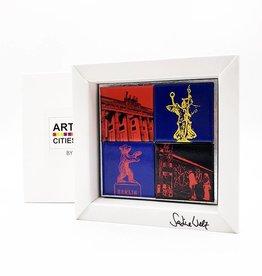 ART-DOMINO® by SABINE WELZ MAGNETSET - GESCHENKBOX - BERLIN - 4 - 02