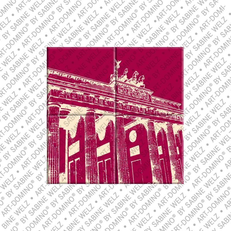 ART-DOMINO® by SABINE WELZ Berlin - Brandenburger Tor 1