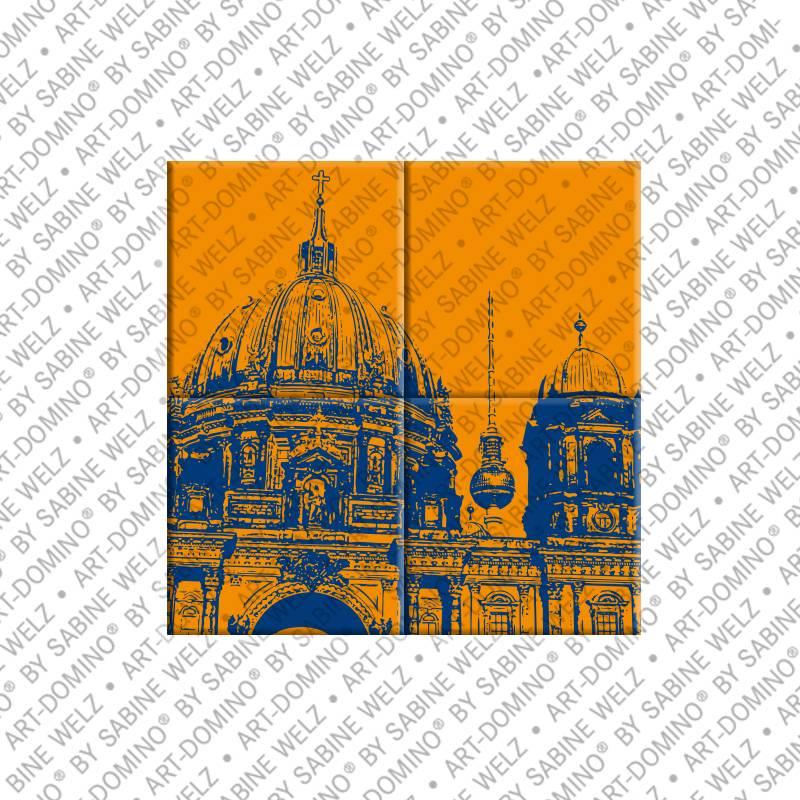 ART-DOMINO® by SABINE WELZ Berlin - Berliner Dom