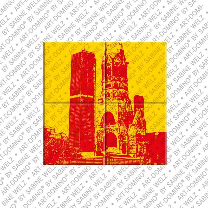 ART-DOMINO® by SABINE WELZ Berlin - Kaiser-Wilhelm-Gedächtniskirche 3
