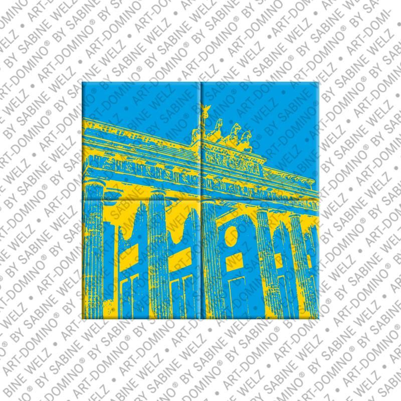 ART-DOMINO® by SABINE WELZ Berlin - Brandenburger Tor 7