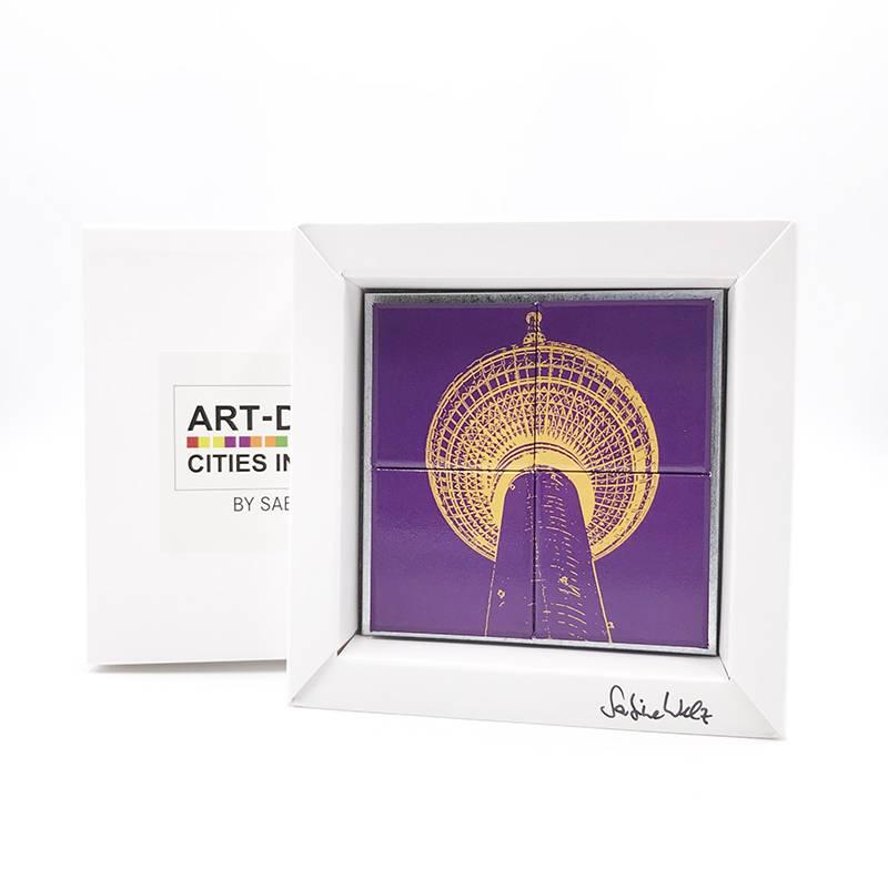 ART-DOMINO® by SABINE WELZ Berlin - Fernsehturm - 3