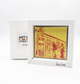 ART-DOMINO® BY SABINE WELZ MAGNETBILD - BERLIN - 18