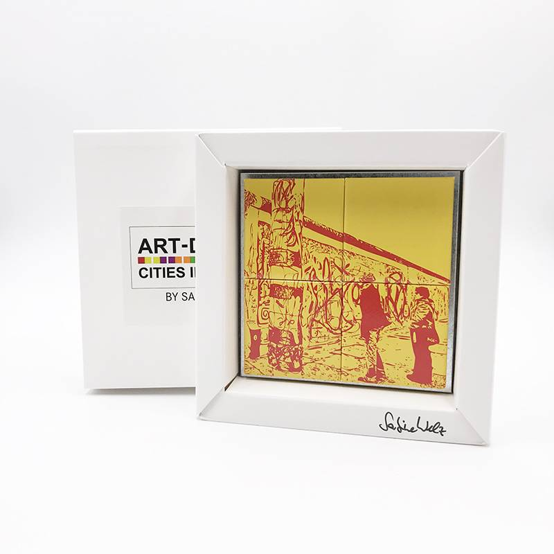 ART-DOMINO® BY SABINE WELZ Berlin - Eastsidegallery 2