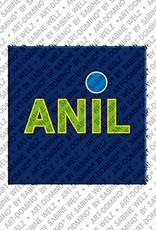 ART-DOMINO® by SABINE WELZ Anil - Magnet mit dem Vornamen Anil
